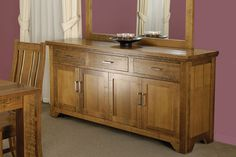 Mountain Ash Hardwood Timber Buffet