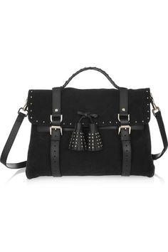 6ebef82750 Mulberry - Tassel studded suede bag