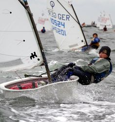 Optimist Sailing Race