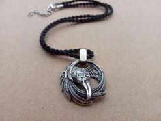 12pcs viking norse raven neckace odins pendant huginn and muninn viking pendant necklace jewelry