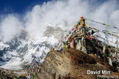 Advertising  Annapurna, Nepal - Prayer Flags