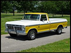 1974 Ford Long Bed Pickup 390 CI, Automatic for sale by Mecum Auction Vintage Pickup Trucks, Classic Ford Trucks, Old Ford Trucks, Lifted Chevy Trucks, Classic Cars, Ford 4x4, Lifted Ford, Vintage Trailers, Best Reliable Cars