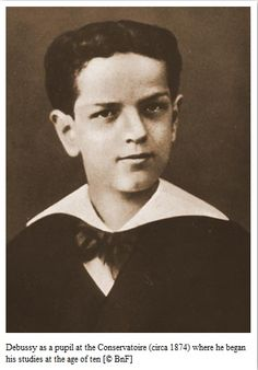 Debussy jeune garçon