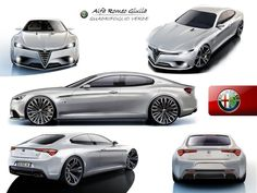 Alfa Romeo Giulia render Some of the concept cars that have been made by the Italian Alfa Romeo company.