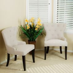 Accent Chair Set Of 2