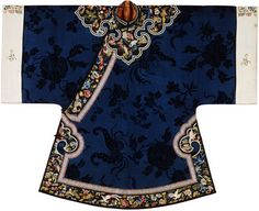 Womans Robe 1850s-1890s China