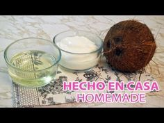 Video-receta: Como hacer manteca y aceite de coco.