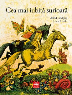 "Hans Arnold - cover for ""Allrakäraste syster"" by Astrid Lindgren Thing 1, Book Images, Vintage Children's Books, Album Book, Inspirational Books, Children's Book Illustration, Book Illustrations, Michel, Film"