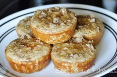 CINNAMON STREUSEL PROTEIN MUFFINS...making tonight for Brad.