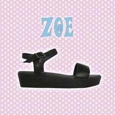 Sandałki duńskiej firmy ShoeBiz Copenhagen. Czarna skóra, ultra lekkie. Ten model tylko w rozmiarach 39, 40.