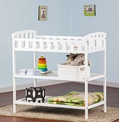 Dream On Me Emily Changing Table White >>> For more information, visit image link.