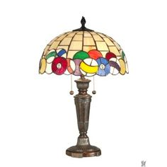 BILLIARDS TIFFANY TABLE LAMP