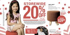 OG SG51 20% Off Storewide Singapore Promotion 4 to 10 Aug 2016