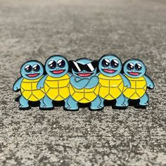 Repost @pocketpinz Squirtle Squad Pin available now at pocketpinz.etsy.com or [link in bio] (Posted by https://bbllowwnn.com/) Tap the photo for purchase info. Follow @bbllowwnn on Instagram for the best pins & patches!