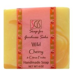 Wild Cherry and Citrus Fruits Soap!