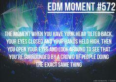 The best feeling in the world <3 #edm #rave #love