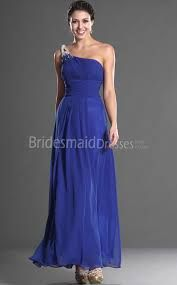 A-line One Shoulder Long Royal Blue Chiffon Bridesmaid custom made online A-line One Shoulder Long Royal Blue Chiffon Bridesmaid for your bridal fashion Blue Bridesmaid Dresses, Prom Dresses, Formal Dresses, Wedding Dresses, Wedding Outfits, Bridal Style, Diy Wedding, Strapless Dress Formal, Royal Blue