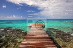 """Wall Mural """"landscape, sand, peaceful - tahiti"""" ✓ Easy Installation ✓ 365 Days Money Back Guarantee ✓ Browse other patterns from this collection!"""