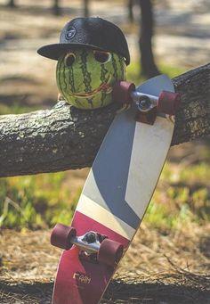 Fruity fun with little Tshiko ♥ #ramlongboards #longboard #longboards #summer…