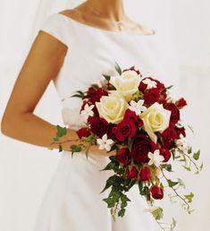 Wedding Flower Red http://refreshrose.blogspot.com/