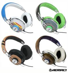 cool headphones retro