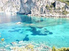 Paleokastritsa beach, Corfu.