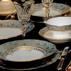 Dinnerware Bernardaud EDEN TURQUOISE