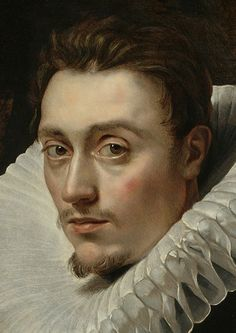 (Peter Paul Rubens (Flemish, 1577–1640), Portrait of a Young Man, c. 1613–15. Oil on panel, 26 x 20 1/2 in.
