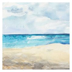 Watercolor Painting Landscape Stock Illustrations, Cliparts And ...