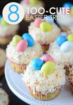 Egg candies, darling bunny cakes, and more! These delicious dessert ideas are some of the sweetest ways to end an #Easter celebration.