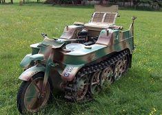genuine WWII Kettenkrad, half-track motorcycle