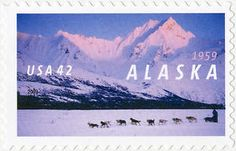 Sunday kicked off the Iditarod Dog Sled Race in Alaska. The race's official photographer is Kickstarting a stunning book featuring his exclusive photos of snow doge galore. Racing Dogs, Commemorative Stamps, Going Postal, Stamp Collecting, My Stamp, Business Design, Postage Stamps, The Life, Thing 1