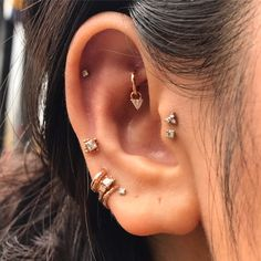 """3,384 Likes, 50 Comments - Nicole (@wklp) on Instagram: """"Beautiful Pat's beautiful piercings Seriously one of my favourite collections ever. Ever!…"""""""