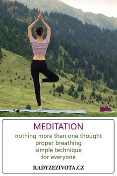 Meditation Nothing more than one thought Proper breathing Simple technique for everyone More Than One, For Everyone, Meditation, Poses, Thoughts, Nike, Simple, Figure Poses, Zen