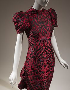 Image: Alexander McQueen, dress, Horn of Plenty collection, Fall 2009, England, museum purchase. 2016.63.1