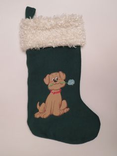 Pound Puppies Christmas Stocking