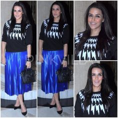 Celebrity Style,neha dhupia,Céline,Dimple and Amrin,Malene Birger