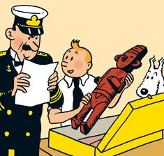 Tintin.com - Personnages secondaires