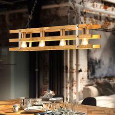Lampa wisząca Khan w stylu vintage, 4-pkt. Bauhaus, Energy Efficiency, Vintage Designs, Chandelier, Ceiling Lights, Lighting, Home Decor, Instagram, Energy Conservation