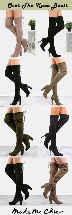 "Step your thigh high game up with the Stiletto Pointy Toe Suede Boots! Features a pointy toe, faux suede upper, slouchy silhouette and a side zipper. Finished with a 4"" stiletto heel. Complete the look with a basic LBD and you're all set for a hot night out!"
