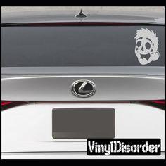 Zombie Boy Vinyl Decal Car or Wall Sticker Mural