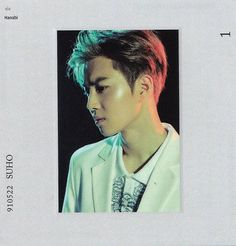 Suho - 160722 Exoplanet - The EXO'rDium in Seoul merchandise - Credit: Hanabi. Polaroid Photos, Polaroids, Exo Album, First Encounter, Kim Joon, Hanabi, Suho Exo, Funny Memes, Handsome