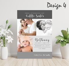 Personalised New Baby Thank You Cards Baby Thank You Cards, Christening Invitations, Three Boys, Envelope Design, Text On Photo, Baby Makes, Baby Birth, Girl Photos, Free Design