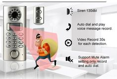 Big Easy's Motion Sensor Alarm is a wireless alarm system with camera that has a super loud siren, video records activity and auto dials a prerecorded message.