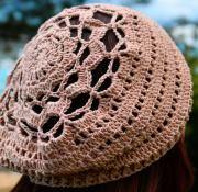 summer beret slouchy crochet free pattern patrón gratis