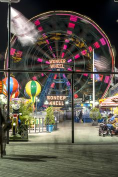 Coney Island, Brooklyn, New York by Richard Silver  Coney Island is a seaside resort in Brooklyn famous for its historic Ferris Wheel and roller coaster, the Cyclone. Long past its heyday, it is still a popular tourist attraction.