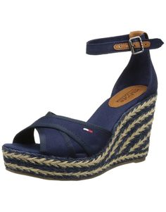 Hilfiger Denim Lively 20D, Sandales compensees femme: Amazon.fr: Chaussures et Sacs