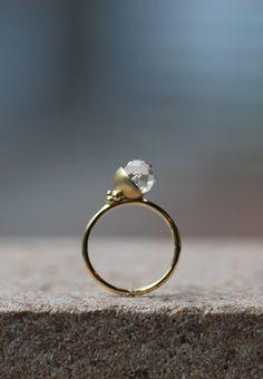 HASUNA  fleur   jewelry,ring,gold,quartz  #fashion#accessory#jewelry