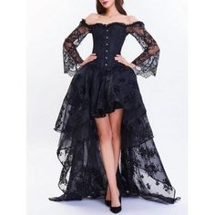 SHARE & Get it FREE | High Low Two Piece Corset DressFor Fashion Lovers only:80,000+ Items·FREE SHIPPING Join Dresslily: Get YOUR $50 NOW!