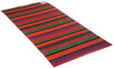 Plastmatta Stripe orange, Horredsmattan